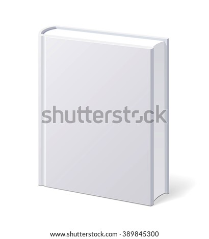 White Book with Blank Cover