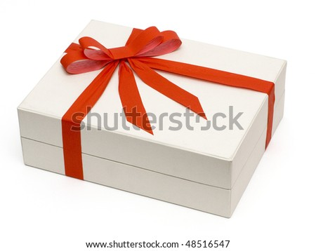 White box - stock photo