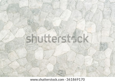 White brick stone textures for background