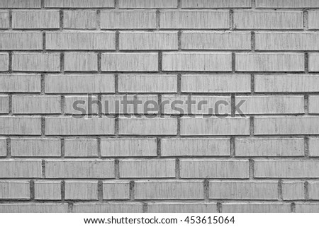 White Brick Wall Grunge Background Or Texture, Modern Bricklaying, Textured Brickwork, Close-up View Of Modern Room Or Loft Interior Stonewall.