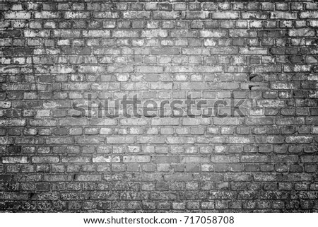 White brick wall surface as background. Abstract white texture.