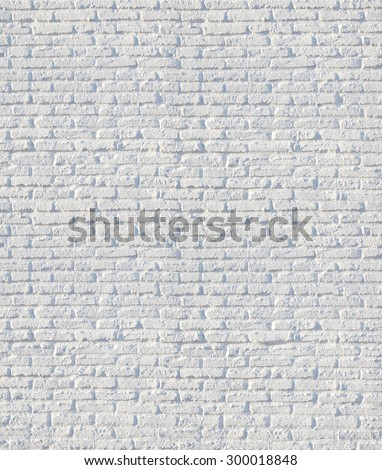 white brick wall - used for background - stock photo