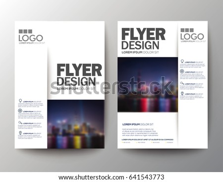 Brochure Template Conference Stock Images RoyaltyFree Images