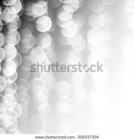 white bubble background - stock photo