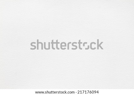white bumpy high quality watercolor paper close up texture - stock photo