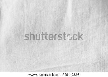 White Canvas Background. - stock photo