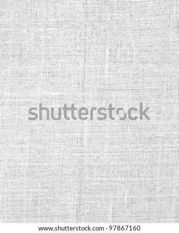 White canvas texture background - stock photo