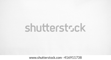 White canvas texture background. Closeup detail blank fabric material textile. - stock photo