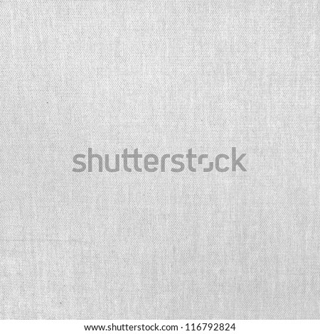 white canvas texture background with delicate striped seamless pattern - stock photo
