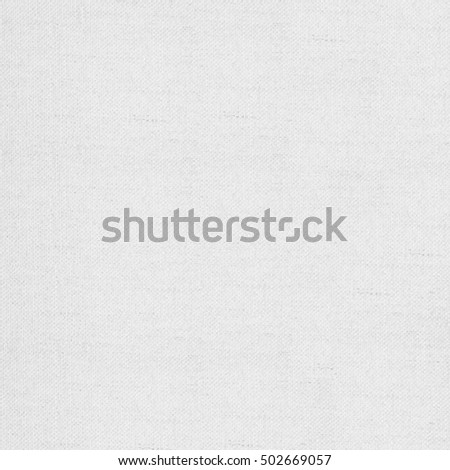white canvas texture or woven pattern linen background