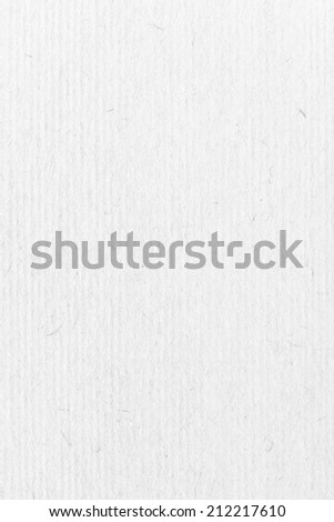 White Cardboard, Corrugated Paper Texture - stock photo