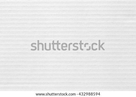 White cardboard texture, cardboard pattern - stock photo