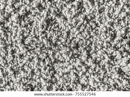 White Carpet Background Texture Close Up Stock Photo