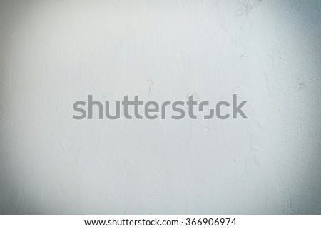 White cement wall backgrounds with vignette - stock photo