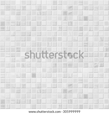 White Ceramic Bathroom Wall Tile Seamless Pattern