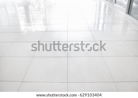 White Ceramic Floor Tiles For The Decoration Of The Bedroom. Part 71