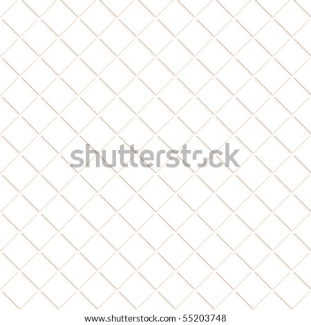 white ceramic tiles for kitchen or bathroom, seamlessly tillable - stock photo