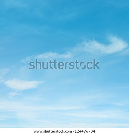 white cloud - stock photo