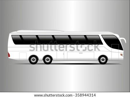 White coach - stock photo