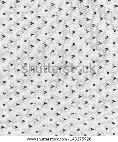 white color knitted pattern texture - stock photo