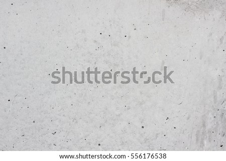 white concrete wall and floor as background texture.Loft  style design ideas living home