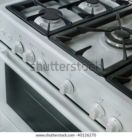 White Cooker - stock photo