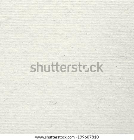 White Corrugated Cardboard Texture - stock photo