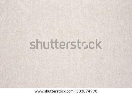 White cream color Fabric texture background - stock photo