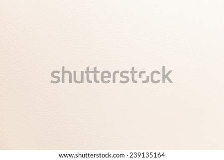 White cream leather background or texture - stock photo