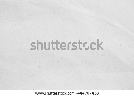 White crumpled/fold paper texture background:crinkle kraft page backdrop concept:wrinkle/creased of blank space/copy-space surface wallpaper - stock photo