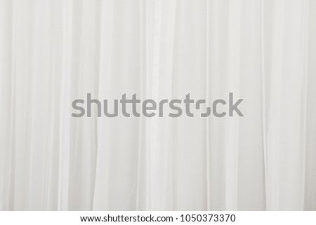 White Curtain Background Abstract Of Drape Backdrop