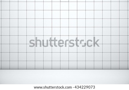 White 3d blocks abstract background, Grunge surface, 3d Rendering