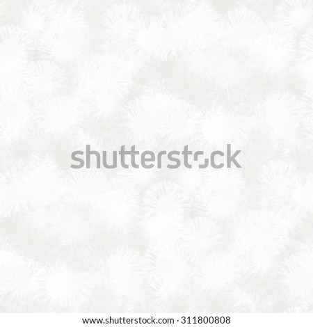 white dandelions, bright abstract background - stock photo