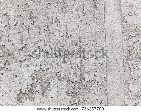 White decorative plaster. Texture. Grunge background