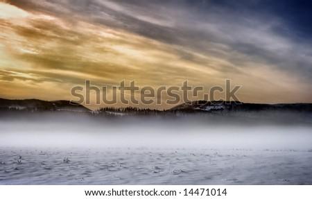 White desert - stock photo