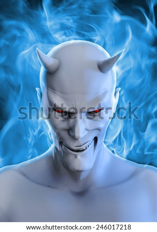 White devil - stock photo