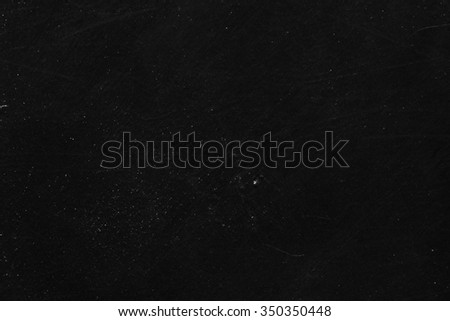 White dust and scratches on black background - layer for photo editor. Horizontal photo - stock photo