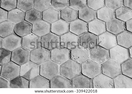 White earthenware floor tile seamless background and texture - stock photo