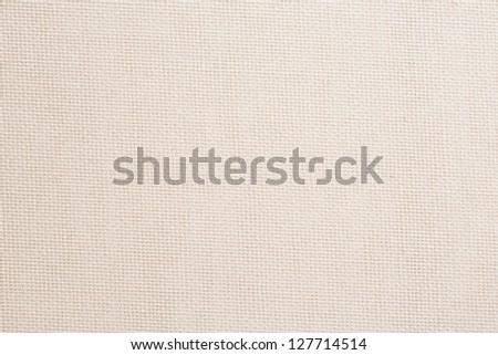 White fabric background - stock photo