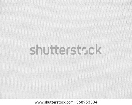 white fabric cloth texture - stock photo