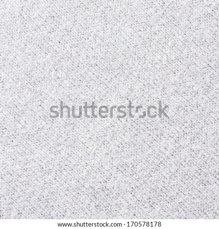 White Fabric Texture - stock photo