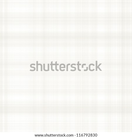 white fabric texture background with beige grid pattern - stock photo