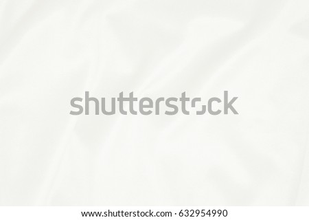 White Fabric Texture For Background And Design Beautiful Pattern Of Silk Or Linen
