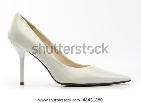 White female shoe