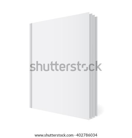 white Folder paperwork, business stack file - stock photo