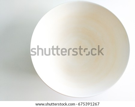 White food bowl Which stains on the surface