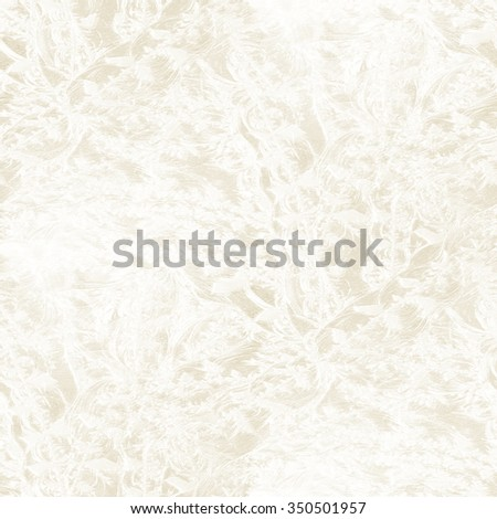 white frost pattern - seamless winter background