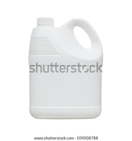 White gallon - stock photo
