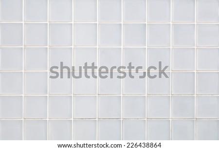 White glass block wall background   - stock photo