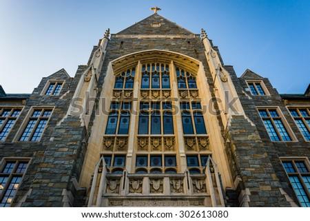 White-Gravenor Hall, at Georgetown University, in Washington, DC. - stock photo